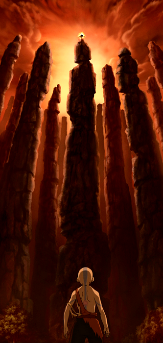Gott und Geist vs. Rotauge und Raitai-Man Aang_at_Wulong_Forest