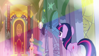 Flashback Celestia &#39;Those things are reflected across all of Equestria&#39; S3E2