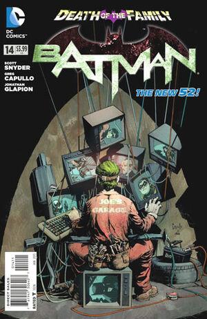 Cubierta para el Batman # 14