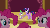 Twilight 'Have her come sit with the others' S3E03