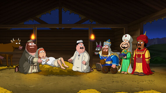 Family Guy Season 11 Episode 8 Jesus, Mary & Joseph