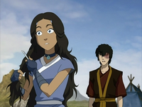 Katara and Zuko