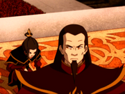 Ozai and Azula