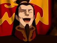 Ozai laughs