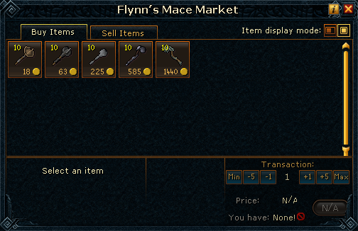 Flynn&#39;s Mace Market stock