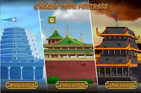 Avatar Fortress Fight 2 fortresses