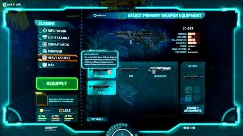 Planetside 2 Basic Training Weapon Instruction