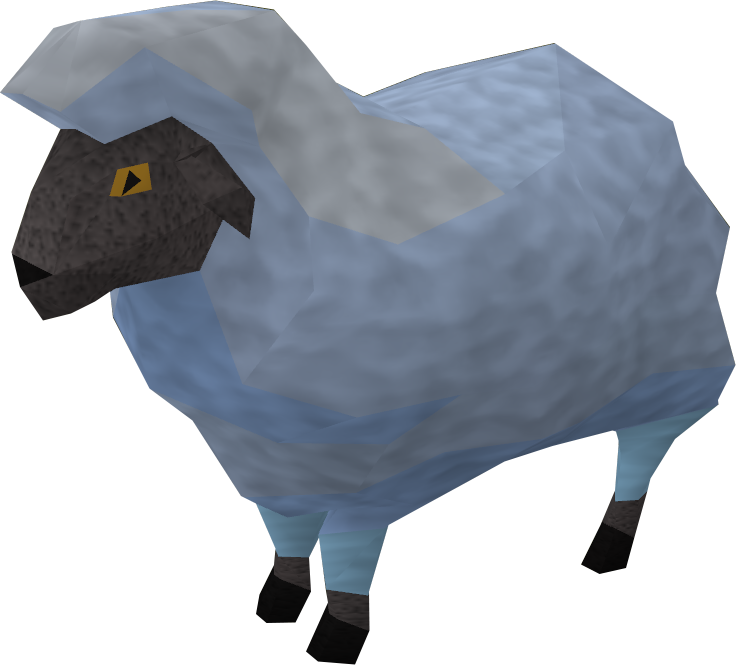 Sick looking sheep 3