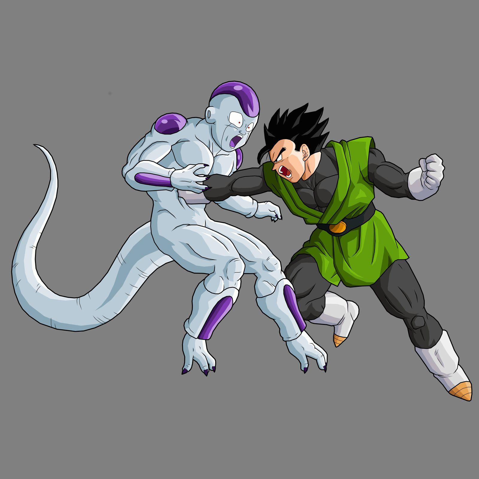 Dragon Ball Z Gohan vs Frieza