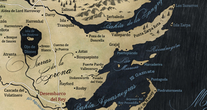 Mapa Tierras de la Corona