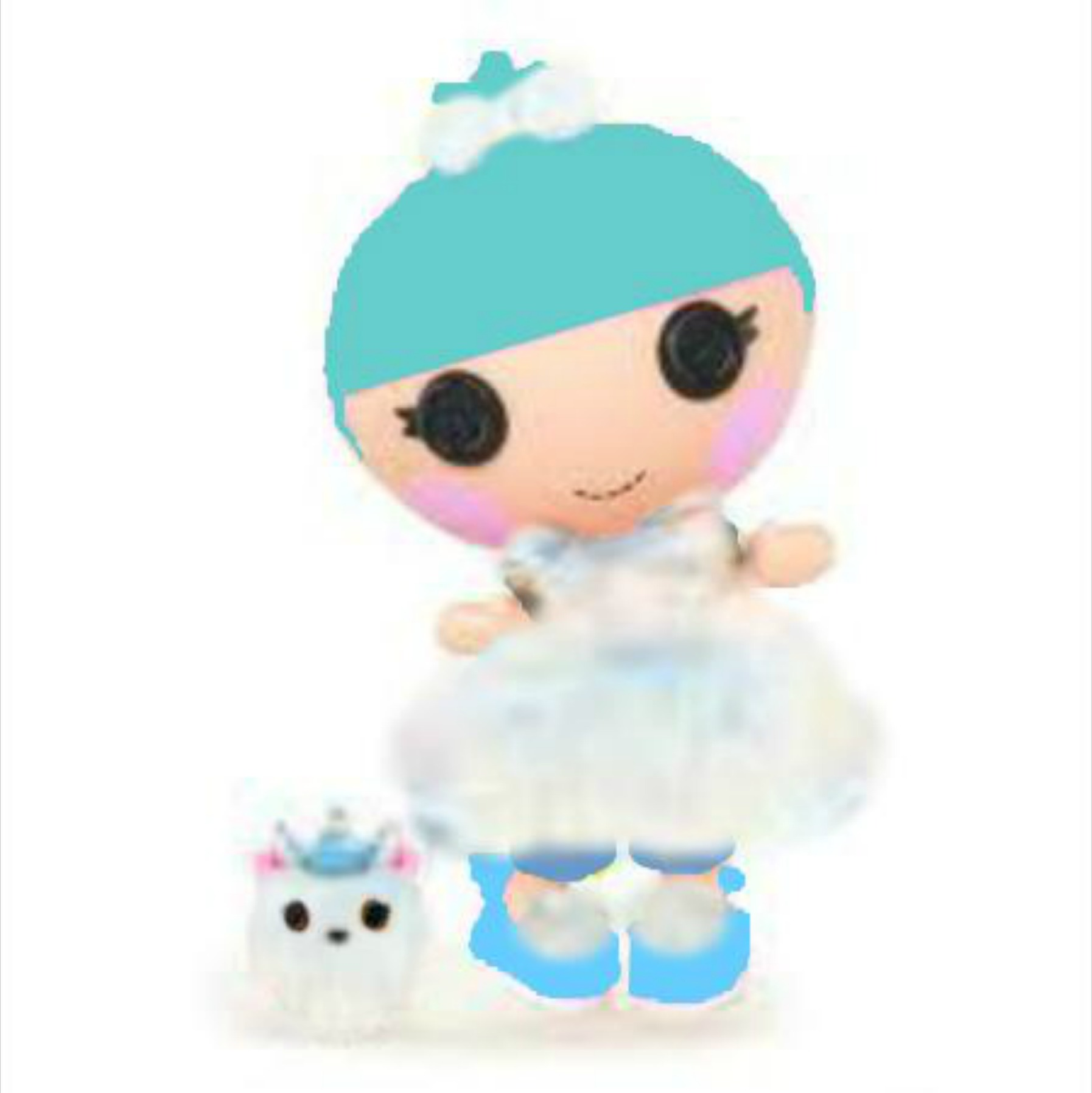 Ice princess coloring pages - Princess Lalaloopsy Coloring Pages Ivory Ice Crystals Lalaloopsy Free Coloring Pages