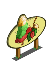 Holiday Corn Tree Mastery Sign-icon