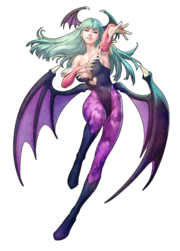 Darkstalkers Resurrection Morrigan