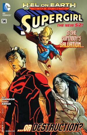 Cover for Supergirl #14
