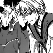 Kise on the bench