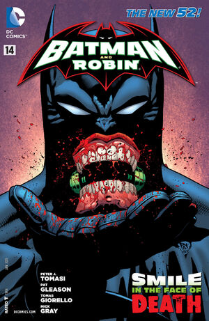 La cobertura de Batman y Robin # 14