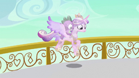 Crystal Cadance landing S3E2
