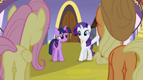 Rarity &#39;You can dismiss&#39; S3E2