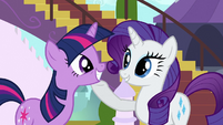 Rarity &#39;All those doubts&#39; S3E2