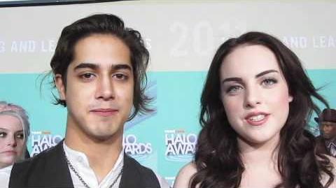 LIZ GILLIES and AVAN JOGIA at the HALO Awards!-1