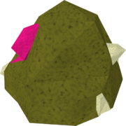 Cleanup gem rock