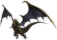 FF XIV Bahamut Artwork