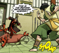 Toph attacking Kunyo.png