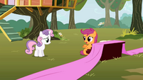 Scootaloo has trouble coming up with lyrics S01E18