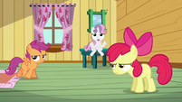 Sweetie Belle &#39;What are we gonna do&#39; S3E04