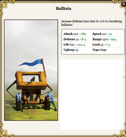 Ballista power