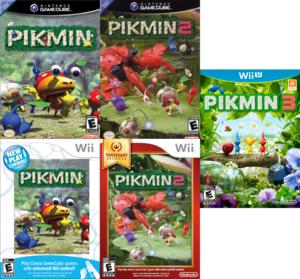 All Pikmin Box Art