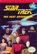 Star Trek TNG NES Cover