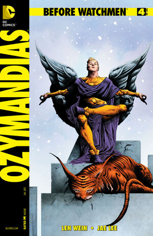 Cover for Before Watchmen: Ozymandias #4