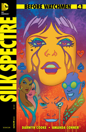 Cover for Before Watchmen: Silk Spectre #4