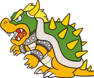 Bowser Artwork (Super Mario Bros.)
