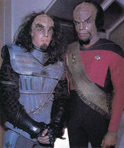 Robert Bauer and Michael Dorn