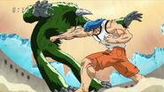 Toriko using Kugi Punch on GT Robo