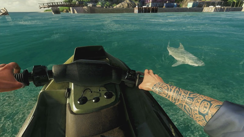 Far cry 3 shark tattoo