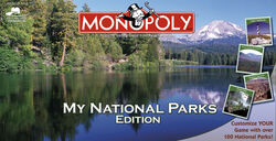 Monopoly My National Parks Edition box