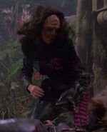 Stunt double Suzie Plakson, The Emissary