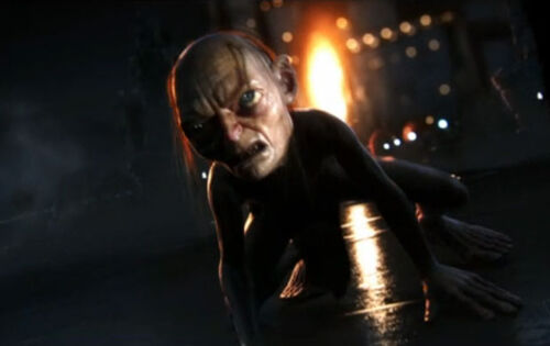 Gollum guardians of middle-earth trailer screen