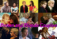 Blonde and brown couples runther shake it up