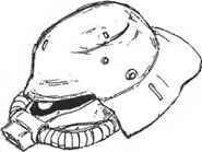 Ms-06fz-btypehelmet
