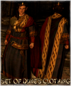 Set Of Duke's Clothing