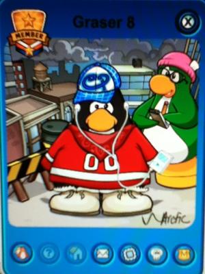 Club Penguin Island Graser