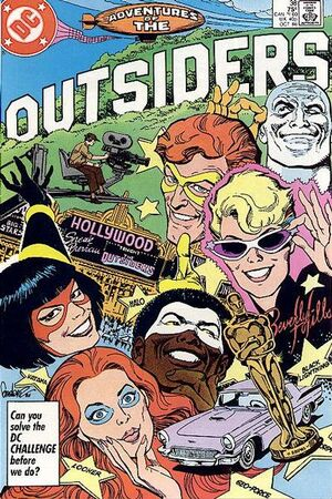Cover for Adventures of the Outsiders #38
