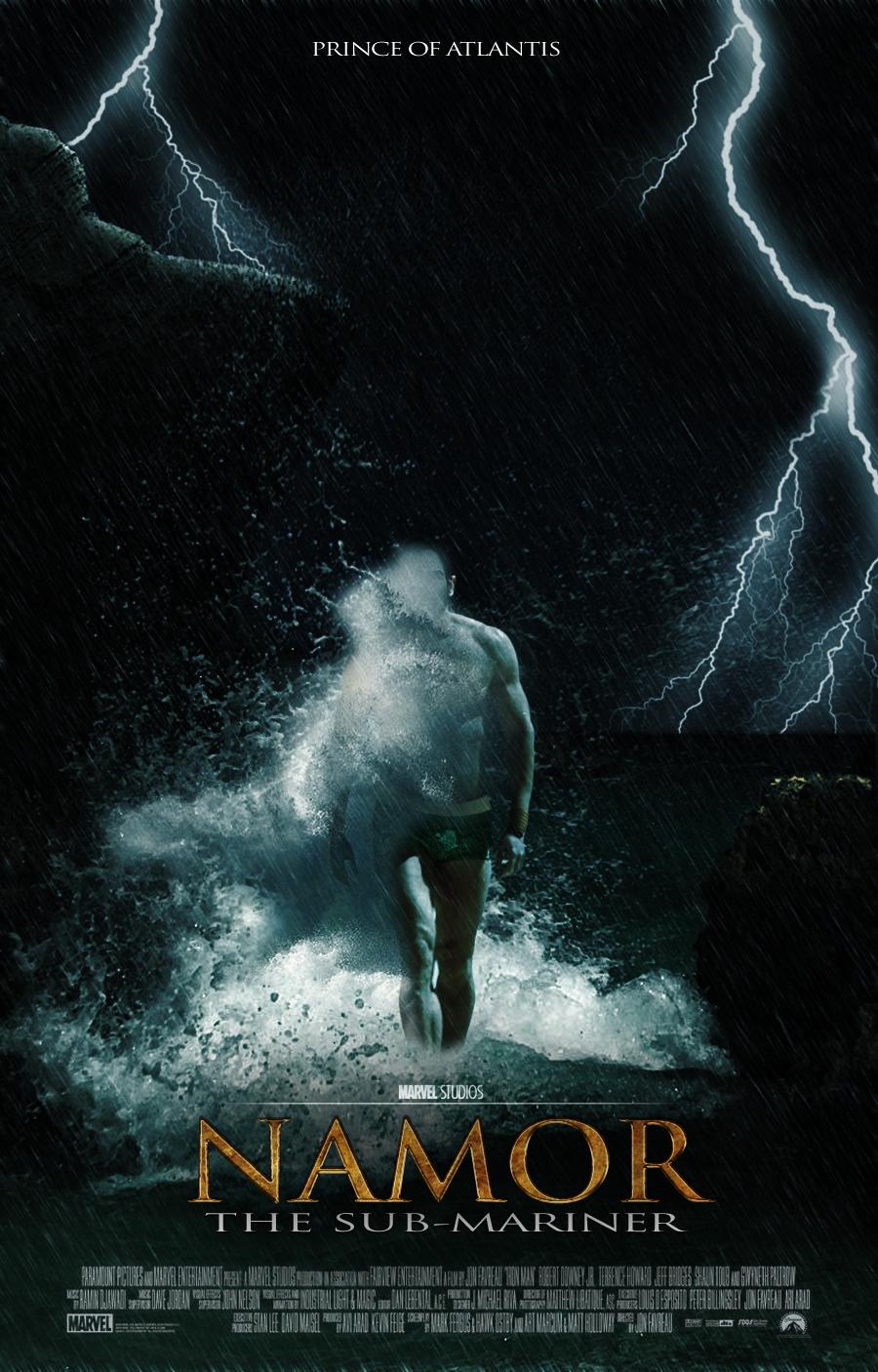 Namor Movie PosterNamor The Submariner Movie