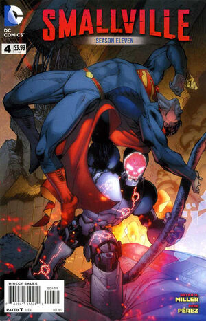 Cover for Smallville Season 11 #4
