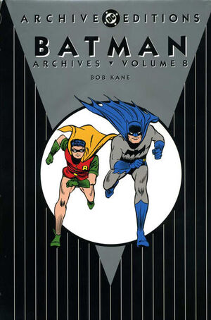 Cover for Batman Archives #8