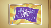 Picture of the Crystal Empire flag S3E01